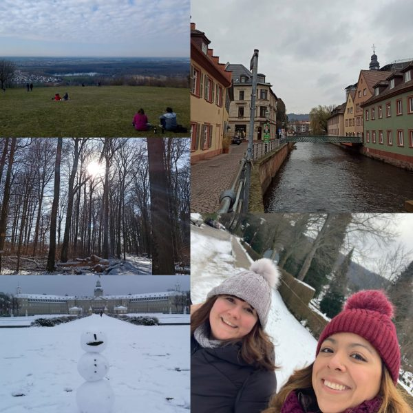 During these Winter months, we have been discovering the villages and hills around Karlsruhe on Sundays
